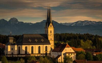 Am Sonntag: Wiedereröffnung der Wallfahrtsbasilika Tuntenhausen