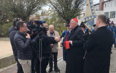 Kardinal Marx bei Wallfahrtsbasilika Tuntenhausen
